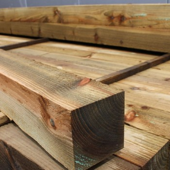 100x100mm  Pressure Treated fence post