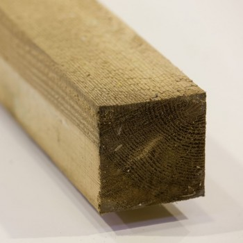 75mm x 75mm  Pressure Treated fence post