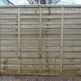 Waney Lap Fence Panels