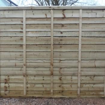 Waney Lap Fence Panels