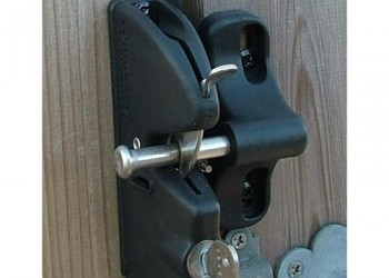 Lockable Gate Latch