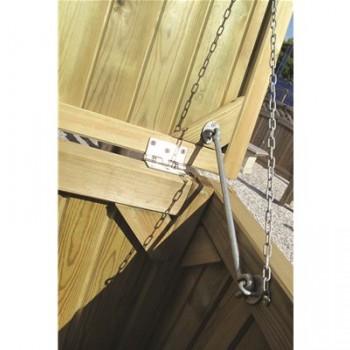 Cabin Hook Galvanised 300mm