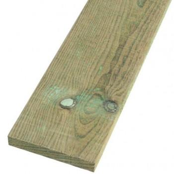 2.4m Pressure Treated Gravel Board