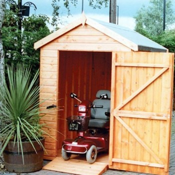 Mobility Pent Shed