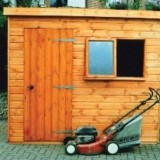 Wentworth Pent Shed