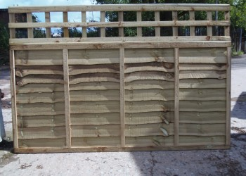 Waney Trellis Panels