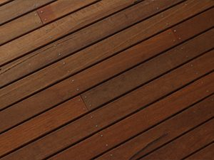wooden decking in Bramhall