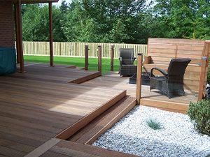 garden decking installer